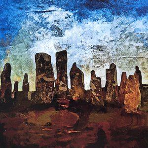 callanish stones hebridean imaging yvonne benting digital art